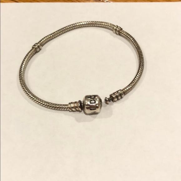 Pandora Jewelry - Pandora iconic silver charm 7 inch bracelet